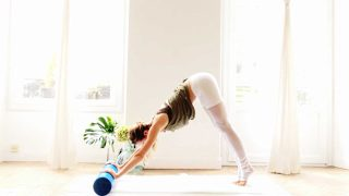 foam roller Mat Pilates Revitalizing Roll-er-up by Gone Adventuring