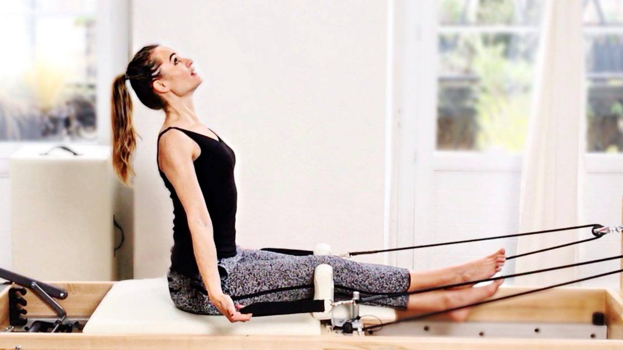 strong back & shoulders Sexy got back TALL AGAIN, PILATES REFORMER workout-Gone Adventuring
