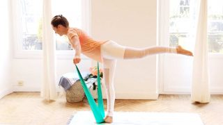 Booty strength Balance & Resistance Pilates Mat by Gone Adventuring